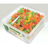 CANDY GARDEN FIZZY STAR 100% HALAL TUB 600 PCS